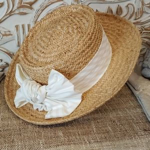 Country Club Straw Hat